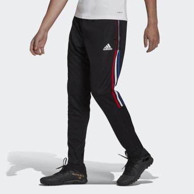 Men's Soccer Black Tiro Track Pants