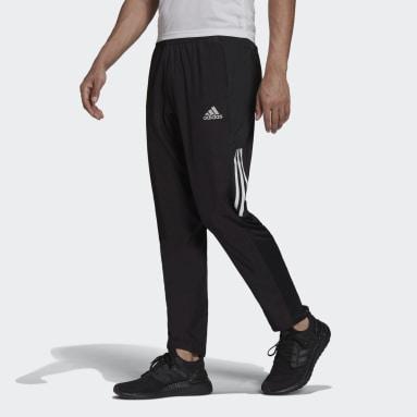 Heren Hardlopen Zwart adidas Own the Run Astro Windbroek