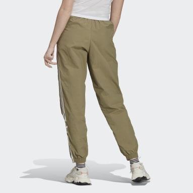 Women's Originals Green Adicolor Classics Lock-Up Track Pants