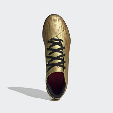 Calzado de Fútbol Nemeziz.4 Pasto Sintético Oro Hombre Fútbol