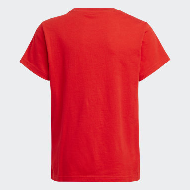 Youth Originals Red Trefoil Tee