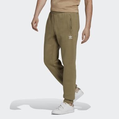 Mænd Originals Grøn Adicolor Essentials Trefoil bukser