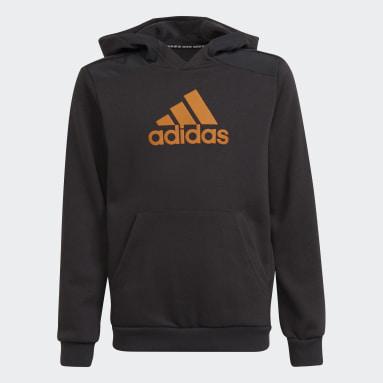 Youth 8-16 Years Training Grey Logo Hoodie