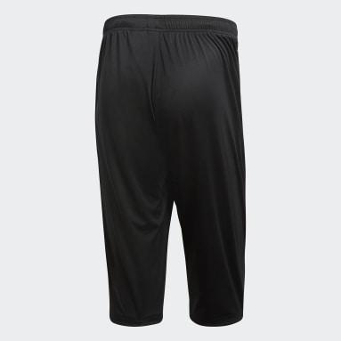 Muži Cvičení A Trénink černá Kalhoty Core 18 3/4