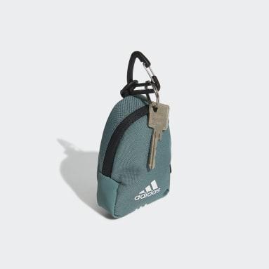 เทรนนิง สีเขียว กระเป๋าดัฟเฟิลคลาสสิกขนาดจิ๋ว