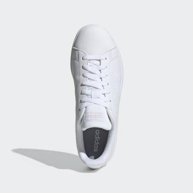 ผู้ชาย Sport Inspired สีขาว รองเท้า Advantage Base