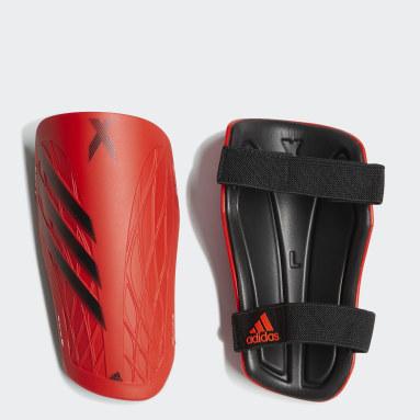 Fußball X Training Schienbeinschoner Orange