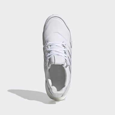 Chaussure Ultraboost Leather Blanc Hommes Running