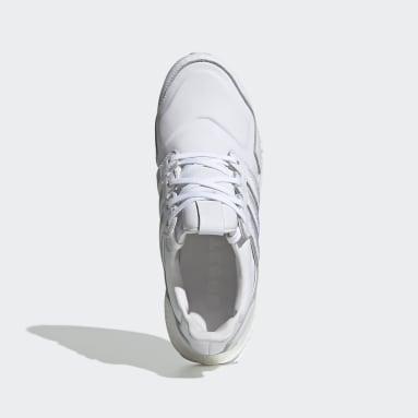 Scarpe Ultraboost Leather Bianco Uomo Running