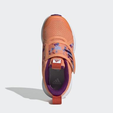 Children Running Orange FortaRun X Frozen Shoes