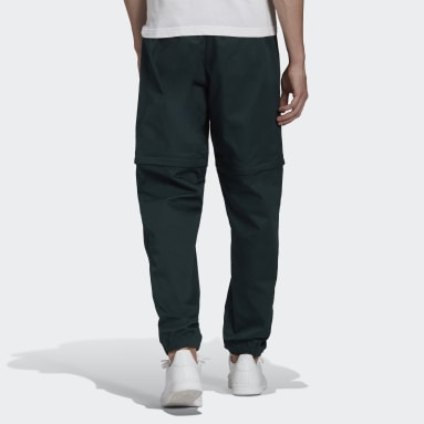 Men Originals Green R.Y.V. Cotton Twill Two-in-One Track Pants