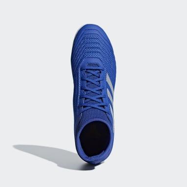 Calzado de Fútbol Predator Tango 19.3 Bajo Techo Azul Hombre Fútbol