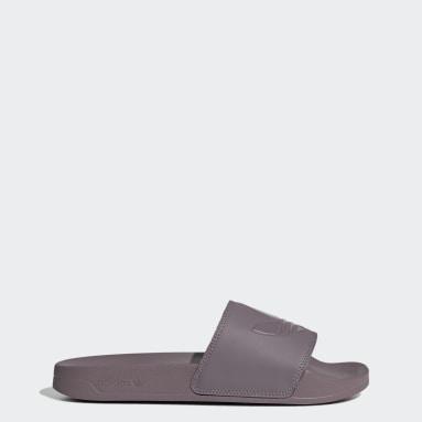 Sandalias adilette Lite Púrpura Originals