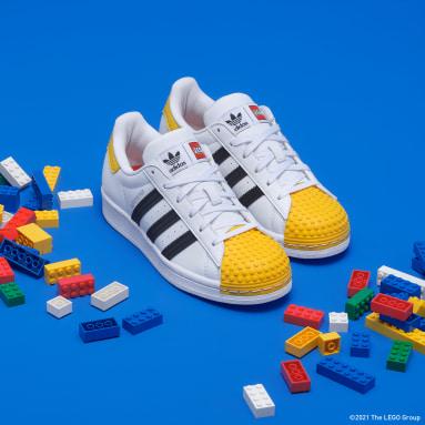 Tenis adidas Superstar x LEGO® Blanco Niño Originals