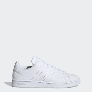 Women Lifestyle White Advantage Base Shoes