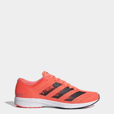 Men Running Orange Adizero RC 2.0 Shoes
