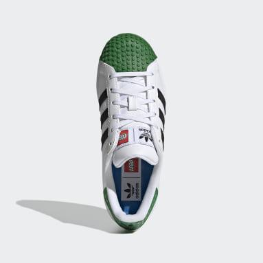Kids Originals White adidas Superstar x LEGO® Shoes