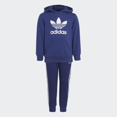 синий Комплект: худи и брюки Adicolor