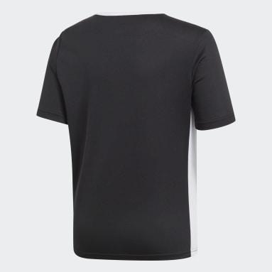 Camisa Entrada Preto Meninos Futebol