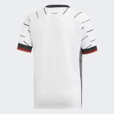 Kinderen Voetbal Wit Duitsland Thuisshirt