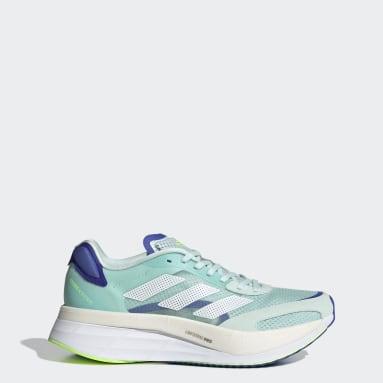 Chaussure Adizero Boston10 Vert Running