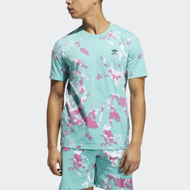 Men's Originals Green All Day I Dream About Tie-Dye Tee