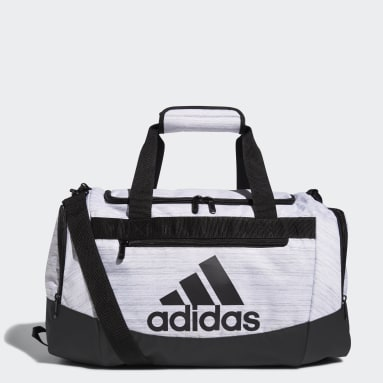 Training White Defender Duffel Bag Small