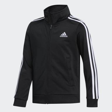 Youth Training Black Iconic Tricot Jacket