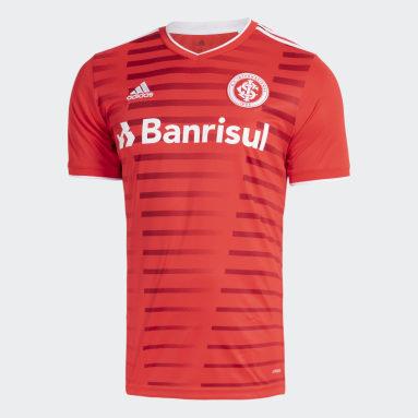 Camisa 1 Internacional 21/22 Vermelho Homem Futebol