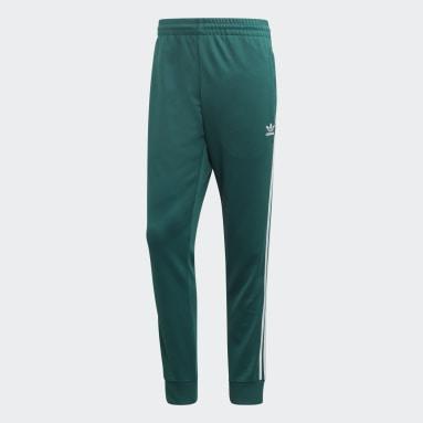 Muži Originals zelená Sportovní kalhoty SST