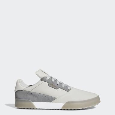 Men Golf Grey Adicross Retro Spikeless Shoes