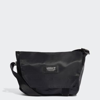 Originals Black Modern Utility Messenger Bag Small