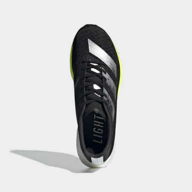 Men Running Black Adizero Pro Shoes