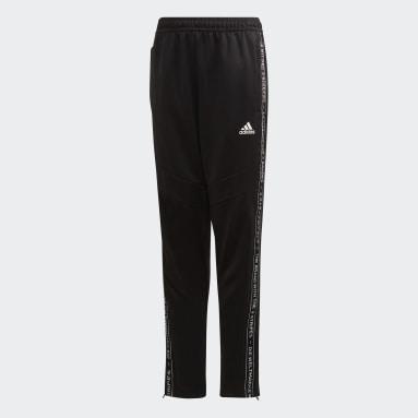 Pantaloni da allenamento Tiro 19 Nero Bambini Calcio