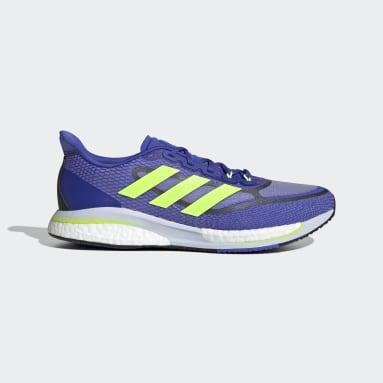 Men Running Blue Supernova+ Shoes