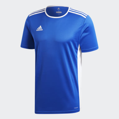 Men Football Blue Entrada18 Jersey