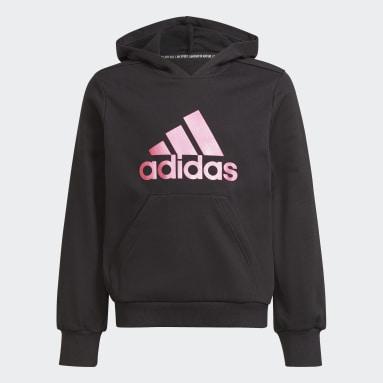 Sweat-shirt à capuche Future Icons Logo noir Adolescents Entraînement