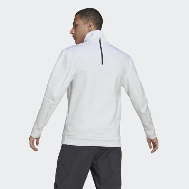 Veste de survêtement adidas Z.N.E. Sportswear Blanc Hommes Sportswear