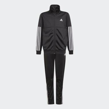 Survêtement 3-Stripes Team Noir Garçons Fitness Et Training