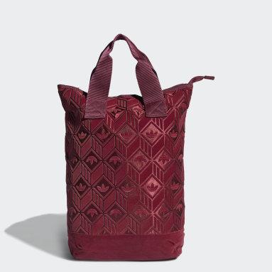Women's Originals Burgundy Backpack