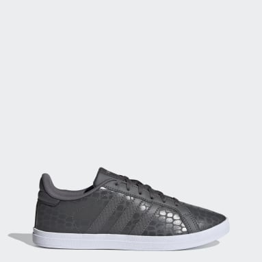 Zapatillas Courtpoint Gris Mujer Diseño Deportivo