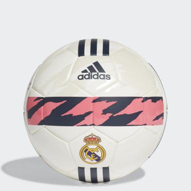 Fodbold Hvid Real Madrid minibold