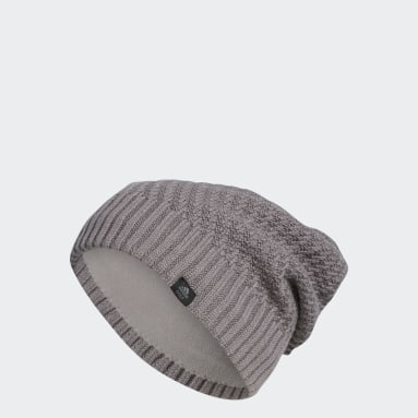 Gorro Golf Slouch Gris Mujer Golf
