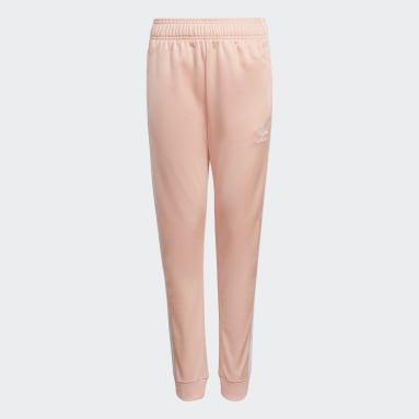 Kids Originals Pink Adicolor SST Track Pants