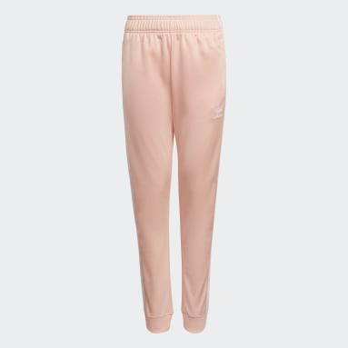 Youth 8-16 Years Originals Pink Adicolor SST Tracksuit Bottoms