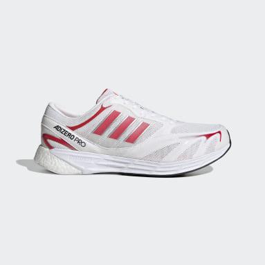 Löpning Vit Adizero Pro V1 DNA Shoes