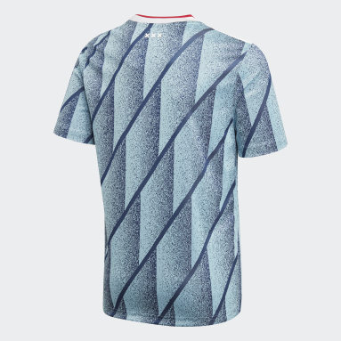 Maillot Ajax Amsterdam Extérieur Bleu Enfants Football