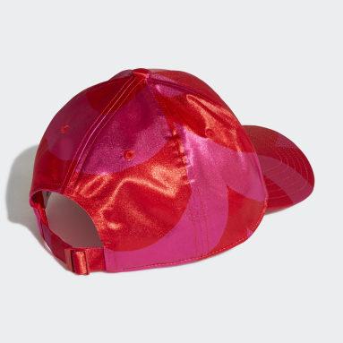 Originals สีชมพู หมวกแก๊ป Marimekko