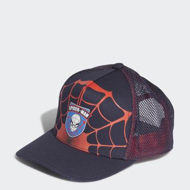 Children Training Black Marvel Spider-Man Hat