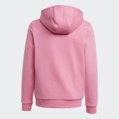 Børn Originals Pink Adicolor hættetrøje
